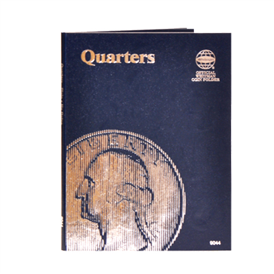 Whitman Coin Folder - Plain Quarter - Coin Folders - Hobby Master - hobbymasterstore