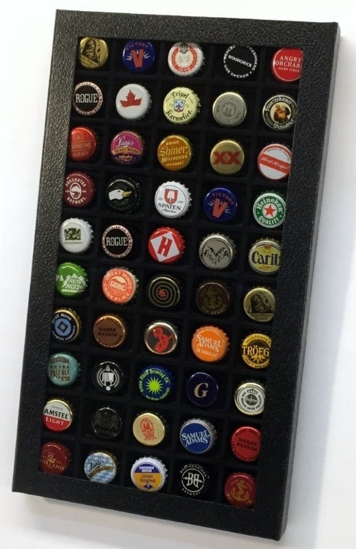 Pride Bottle Cap Collector's Display Case - Bottle Cap Displays - Hobby Master - hobbymasterstore
