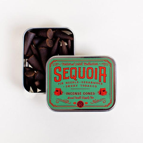 Good & Well Supply Co - Sequoia Incense Cones