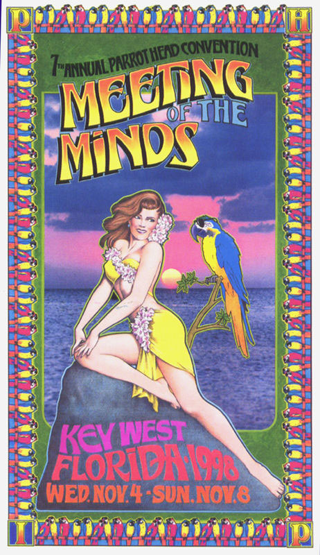 "7th Annual Parrot head Convention ""Meeting of the Minds"" November 4 to 8, 1998 Key West Florida"