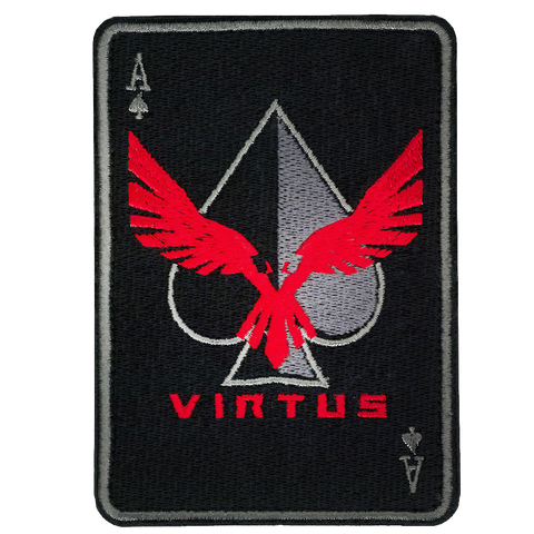 ACE OF SPADES, VIRTUS Outdoor Group Morale Patch.
