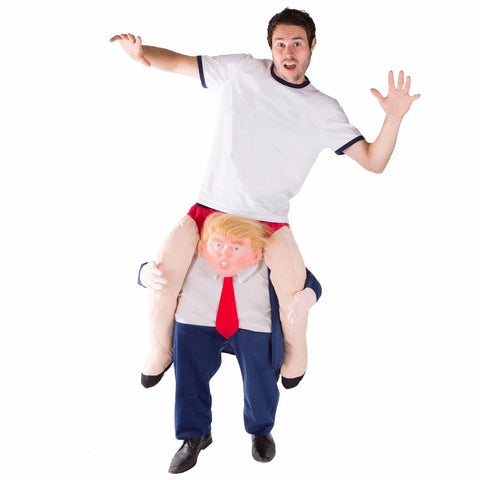 Fancy Dress - Piggyback Donald Trump Costume