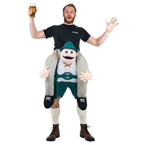 Fancy Dress - Piggyback Lederhosen Costume