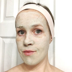 Bentonite Clay Face Mask on a Self-Care Sunday