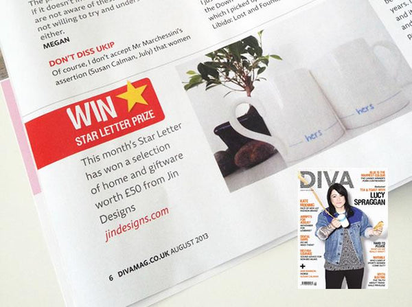 Lucky DIVA Reader Wins Jin Designs Prize