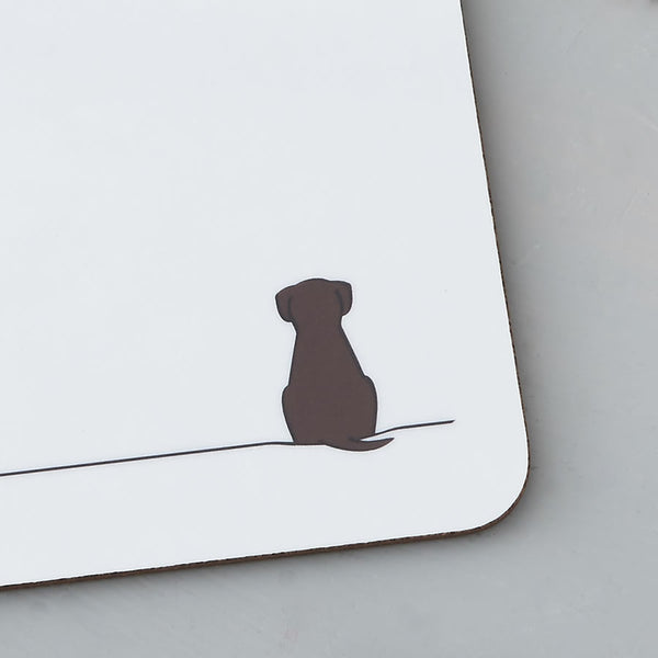 Sitting Dog Coaster