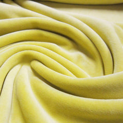 Citrus Cotton Velour