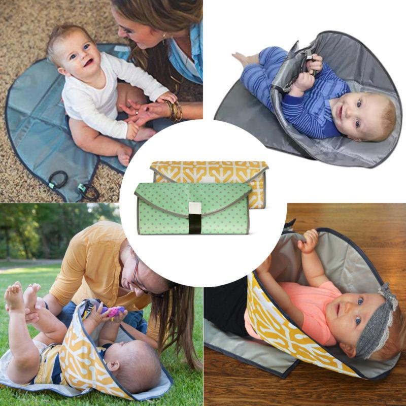 Portable 3 in 1 Waterproof Changing Mat