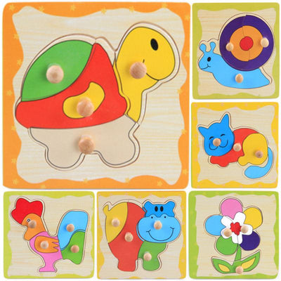 Cartoon Learning Puzzle