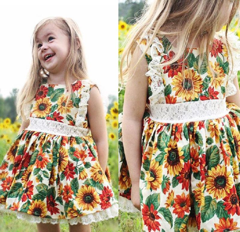 Wild Sunflowers Dress