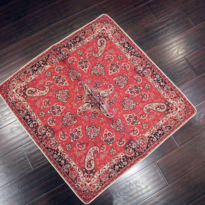 "Termeh - Luxurious square shape Persian textile 39""- Pattern 4 - gallery-eshgh"