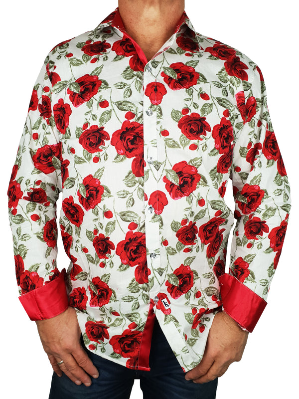 Romeo Long Sleeve Big Mens Shirt