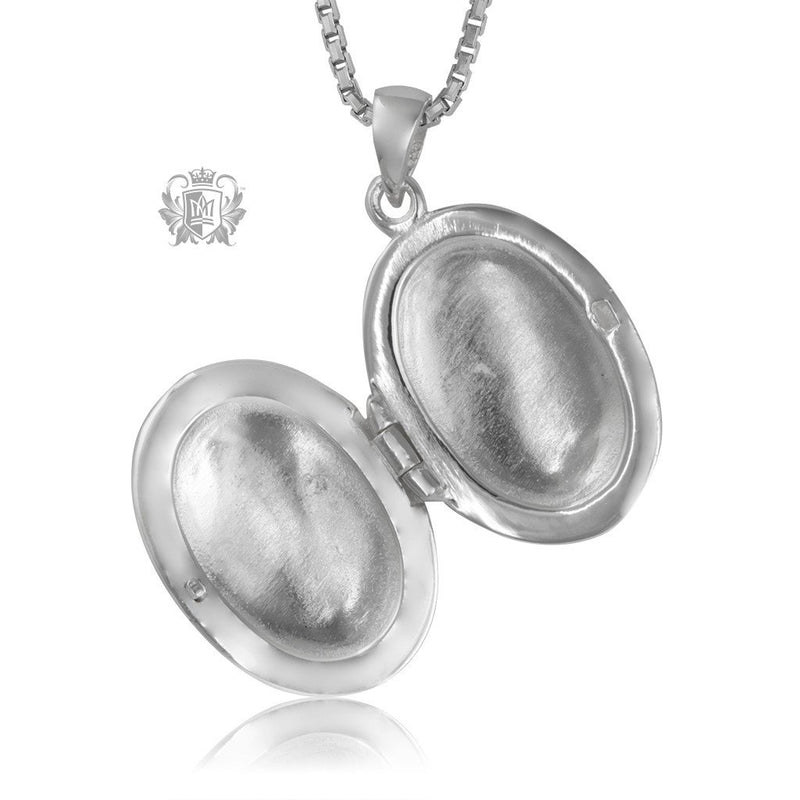 Leafy Locket - Metalsmiths Sterling™ Canada