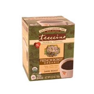 Herbal Coffee Tea Bags French Roast 10 CT By Teeccino