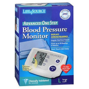 LifeSource Advanced Blood Pressure Monitor One Step 1 Each By Lifesource
