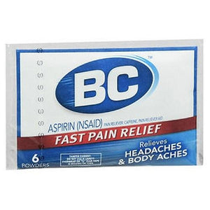 BC Pain Relief Powders 6 Each By Med Tech Products