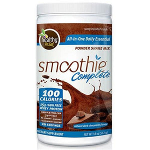 Smoothie Complete Dark Chocolate 18 oz By To Go Brands Inc