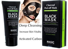 Deep cleansing Charcoal Peel-Off Mask, Blackhead Remover by Magic 60ml / 2.0 oz