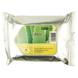 Beauty Treats Makeup Remover Tissues- Aloe
