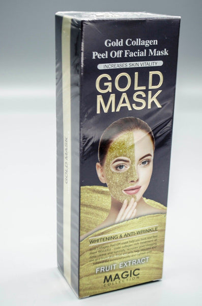 Magic Collection Gold Collagen Peel Off Facial Mask Gold Mask 4oz
