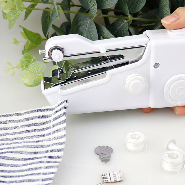 Portable Handheld Cordless Mini Sewing Machine-BUY TWO FREE SHIPPING💎