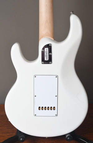 2018 Ernie Ball Music Man Silhouette White