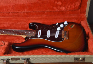 1992 Fender SRV Signature Stratocaster Sunburst with OHSC
