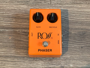 1979 Ross Phaser Effects Pedal