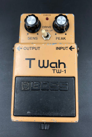 Boss TW-1 T Wah with ACA-120 power adapter