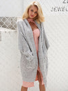 Casual Knitting Long Cardigan Plus Size - BelleChloe