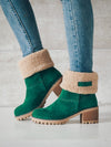 Casual Knitted Letter Print Long Boots