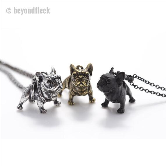 French Bulldog Statement Necklace