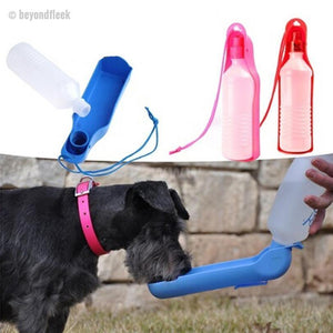 Limited Edition Portable Dog Water Bottle