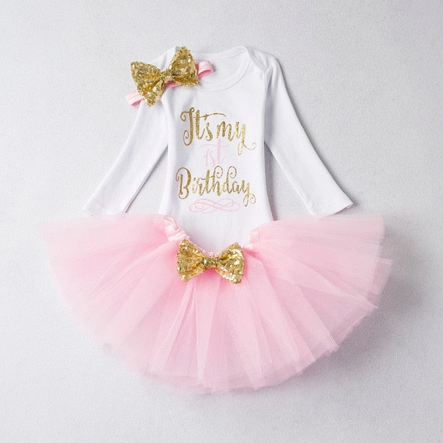 My 1st Birthday Tutu Outfit