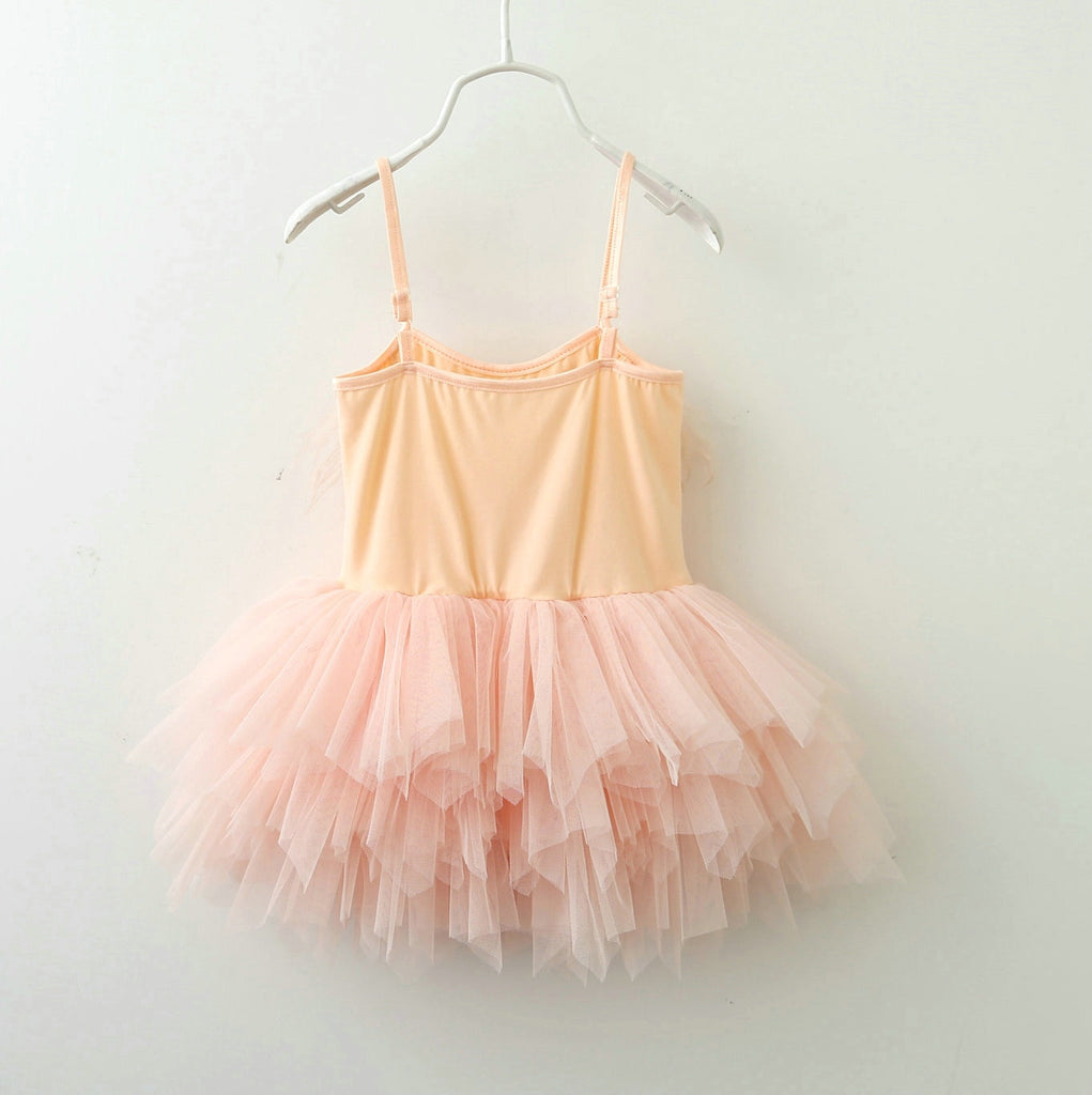 Feather Flutters Tulle Dress