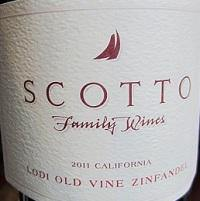 Scotto Family Vineyards Old Vine Zinfandel