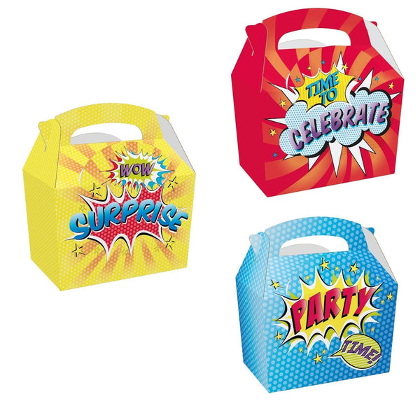 Children's Adult's Meal/Party Box - Party Surprise Design