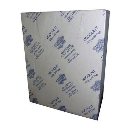 Clear Polythene Food Safe Bags 120g - Various Sizes