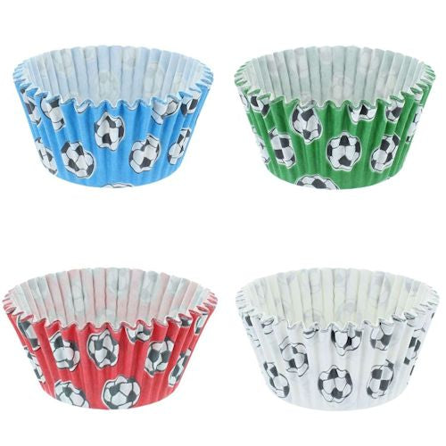 Cupcake Cases - 51x38mm - Football
