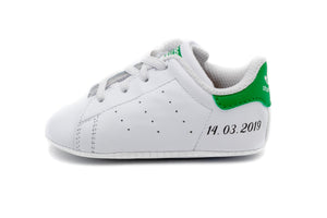 ADIDAS Stan Smith Crib Verte Bébé