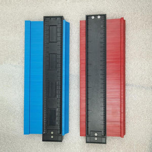Irregular Shaper Scale Contour Profile Ruler Gauge Tiling Laminate Tiles Edge Shaping Tool