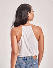 Load image into Gallery viewer, Women's Winged Color Polygon Flowy Tank