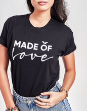 Load image into Gallery viewer, Unisex Made of Love Tee