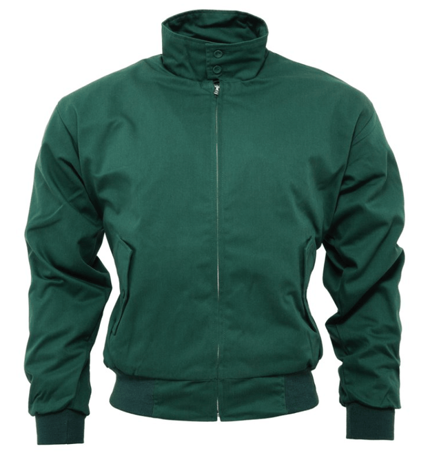Bottle Green Harrington Jacket - GIAN LONDON