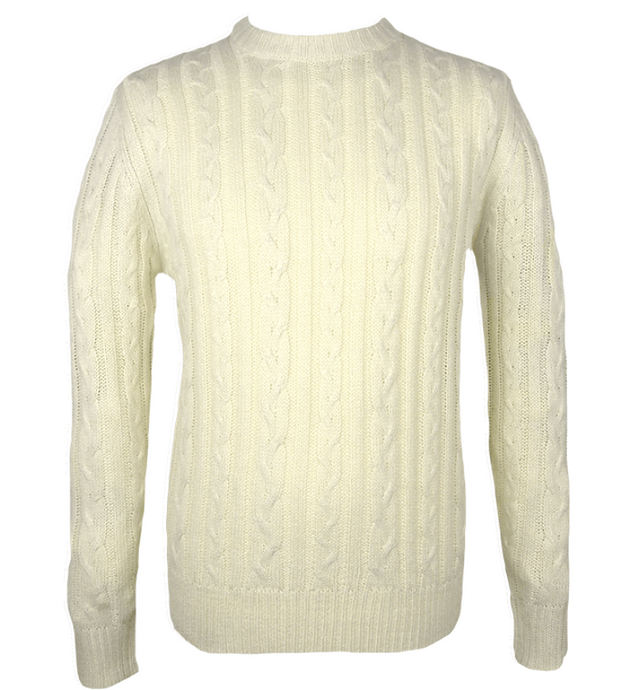 Cable Knit Jumper - GIAN LONDON