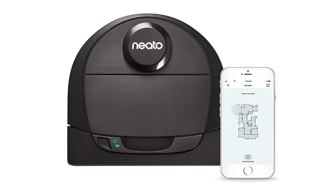 Neato Botvac D6 Connected Laser Guided Vacuum, Ideal for Pet Hair - Robot Vacuum Store