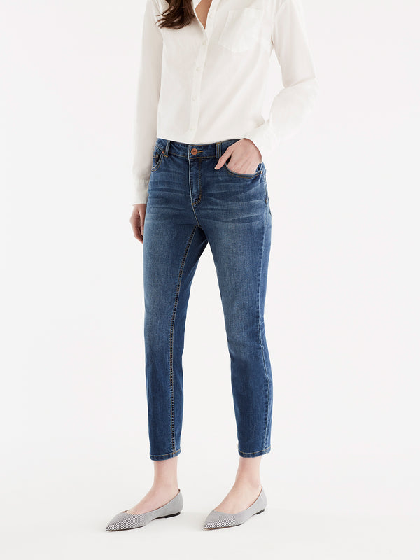 Lexington Skinny Cropped Jeans