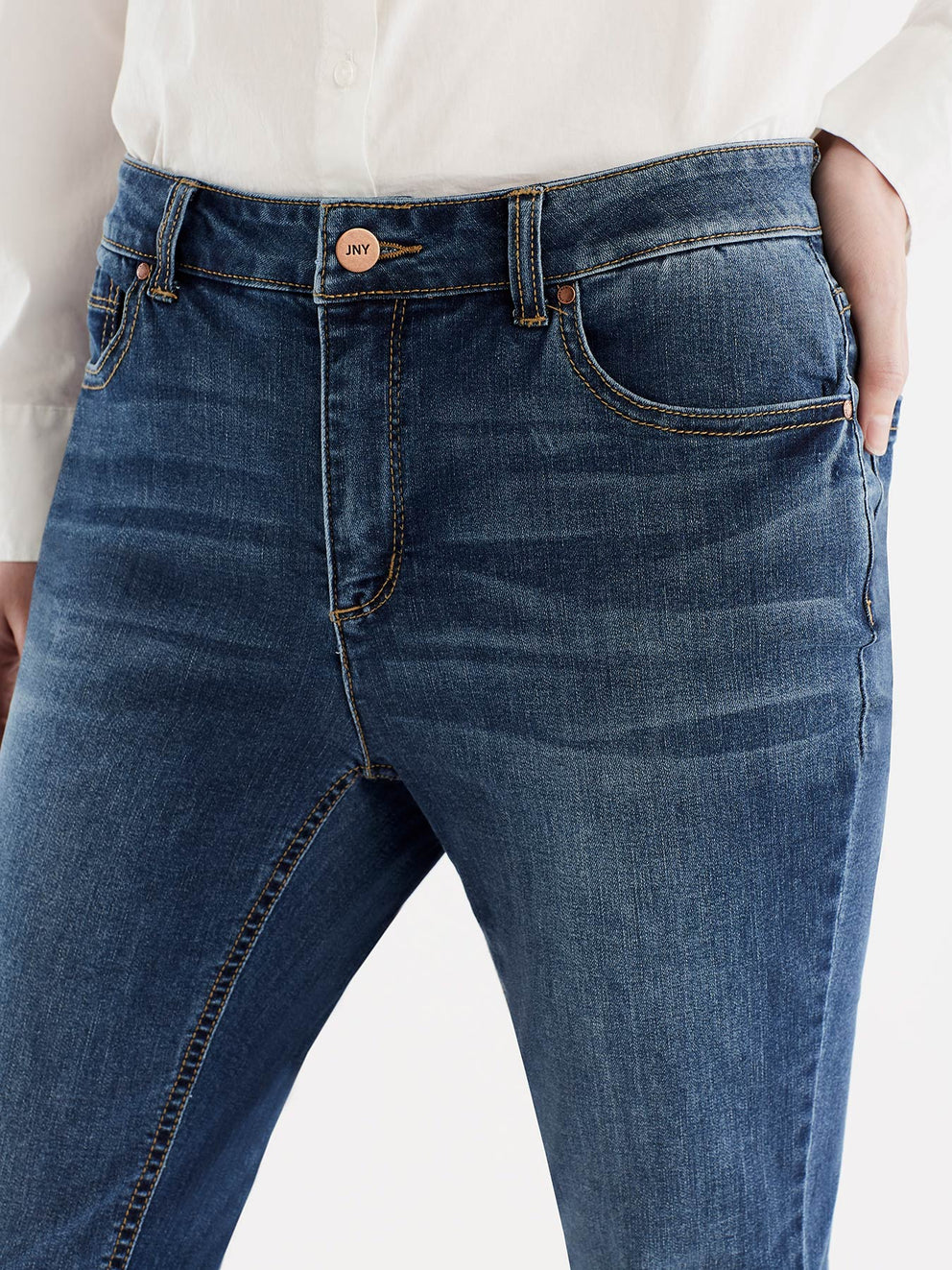 Lexington Skinny Cropped Jeans Color Dreamer Wash