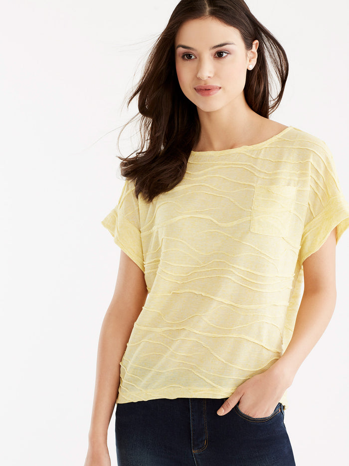 Dolman Sleeve Pocket Tee