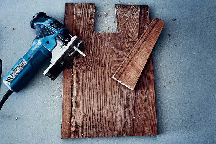 Make a wooden chopping board